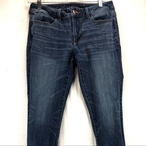American eagle 360 stretch jeans size 8 regular